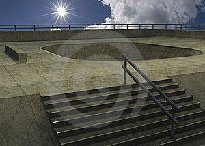 Skate Park Royalty Free Stock Photo - Image: 8319515