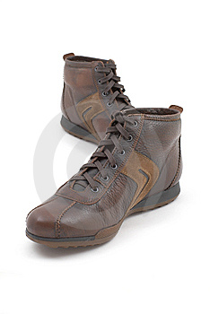 Brown Shoes Royalty Free Stock Image - Image: 8319526