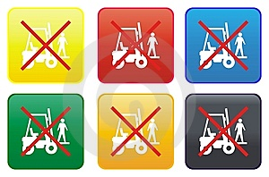 Ban On Transporting Persons Stock Images - Image: 8319984