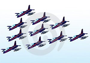 Airplane Collection Royalty Free Stock Photo - Image: 8320175