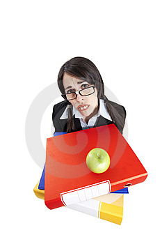 Frustrated Businesswoman Stock Photos - Image: 8321613
