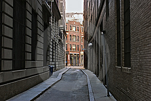 Skinny Street Royalty Free Stock Photography - Image: 8322627