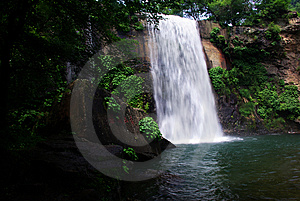 Waterfall Wide Royalty Free Stock Photo - Image: 8322685