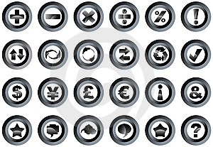 Buttons Stock Photography - Image: 8324582