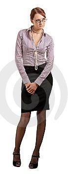 Slim Girl Stock Photography - Image: 8324952