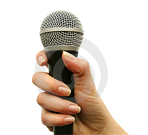 Microphone Stock Photo - Image: 8325150