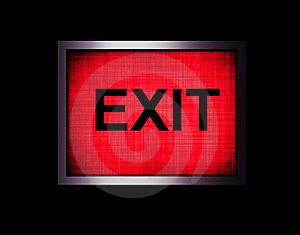 Exit Royalty Free Stock Photography - Image: 8325577
