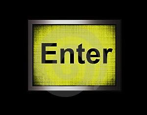 Enter Key Stock Image - Image: 8325611