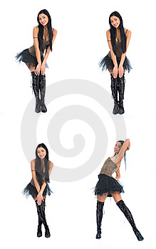 Portrait Of The Brunette Royalty Free Stock Photography - Image: 8326597
