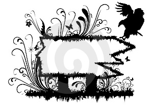 Floral Frame Royalty Free Stock Photo - Image: 8326995