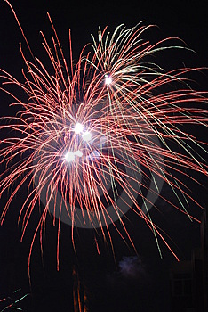 Fireworks_1 Stock Photo - Image: 8327180