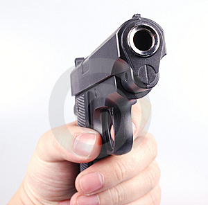 Gunpoint Stock Photography - Image: 8327852