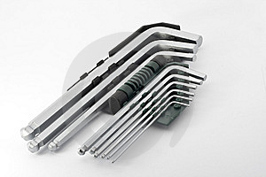 Hex Key Set Royalty Free Stock Image - Image: 8328026
