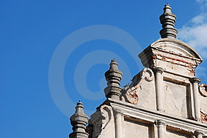 Ancient Building With Pillars Royalty Free Stock Photography - Image: 8328067