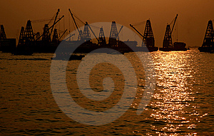 Crane Cargo 01 Royalty Free Stock Photography - Image: 8328167