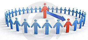 Circle Of People Royalty Free Stock Image - Image: 8328656