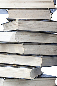 Stack Of Old Books Royalty Free Stock Photo - Image: 8330125