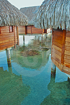 Over Water Bungalow Stock Photos - Image: 8331703