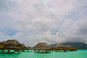 Over Water Bungalow #4 Stock Image - Image: 8331811