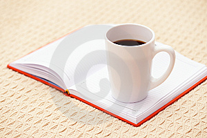 Coffee And Organizer Stock Photos - Image: 8332513