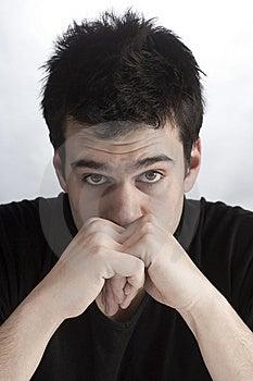 Sad Boy Royalty Free Stock Image - Image: 8332616