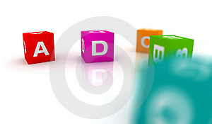 Alphabetical Toys In Cube Shape Royalty Free Stock Photo - Image: 8333515