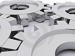 Beautiful Gears Royalty Free Stock Images - Image: 8333589