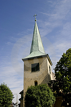 Church Tower Royalty Free Stock Image - Image: 8333736