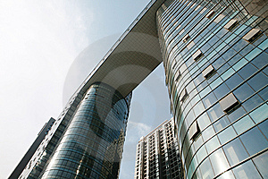 Modern Office Building Royalty Free Stock Images - Image: 8334049