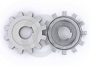Beautiful Gears Stock Images - Image: 8334384