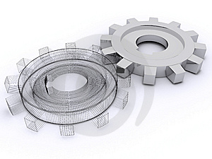 Beautiful Gears Royalty Free Stock Photography - Image: 8334397