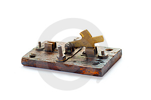 The Old Switch. Stock Image - Image: 8334421