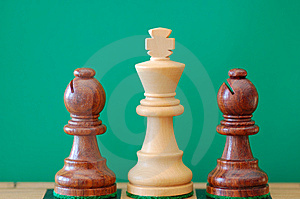 Trio Chess Stock Photos - Image: 8334723