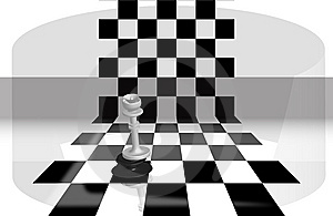 Chess Queen Manage Stock Photo - Image: 8337250