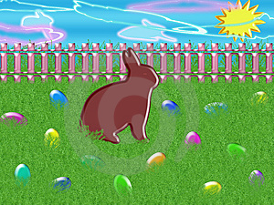 Easter Bunny Royalty Free Stock Photography - Image: 8338547