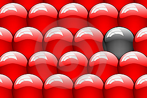 Set Of Clean Glossy Ball. Abstract Background Royalty Free Stock Images - Image: 8339739