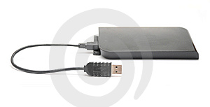 USB External HDD Royalty Free Stock Image - Image: 8340536