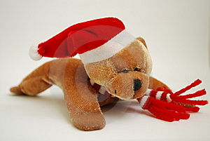 New Year Bear Stock Images - Image: 8341094