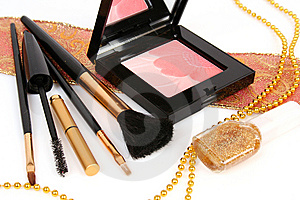 Decorative Cosmetics Stock Photos - Image: 8341693