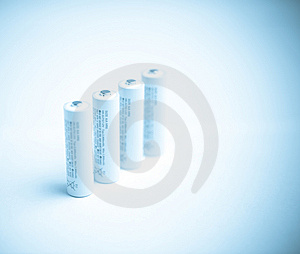 Batteries Royalty Free Stock Photos - Image: 8342988