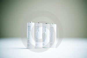 Batteries Royalty Free Stock Photo - Image: 8342995