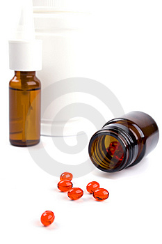 Different Pills Royalty Free Stock Images - Image: 8344509