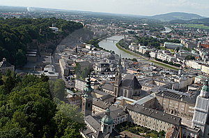 Salzburg, Scenery Stock Images - Image: 8345064