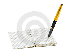 Pen And Note Pad Stock Images - Image: 8345134