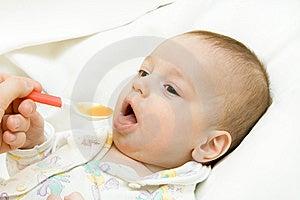 Feeding Of The Child Stock Images - Image: 8347194