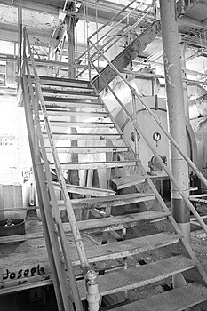 Sugar Mill Stairs Royalty Free Stock Photo - Image: 8347525