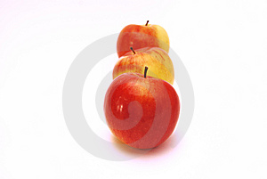 Three Apples Royalty Free Stock Photo - Image: 8348495