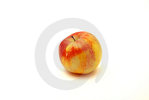 One Apple Royalty Free Stock Image - Image: 8348496