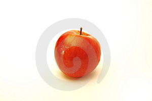 One Apple Royalty Free Stock Photo - Image: 8348945