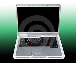 Laptop Stock Image - Image: 8350681